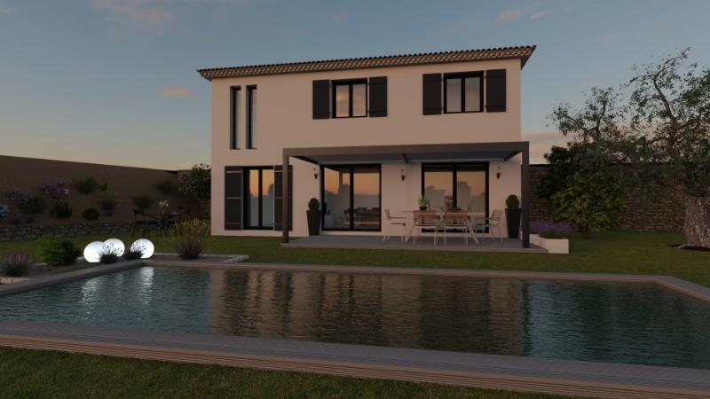 Terrain et Maison rare à vendre sur la commune de Carros 06510