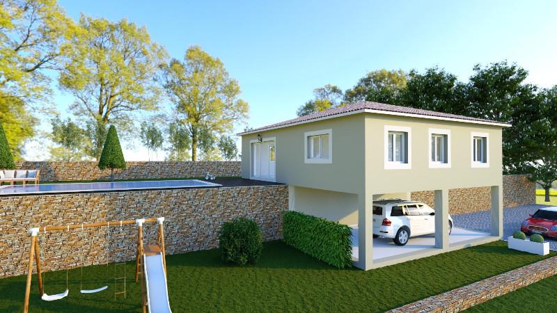 Vente terrain constructible gattieres alpes maritimes for Terrain construction maison