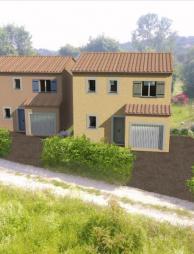 Terrain et Maison à vendre sur Saint Jeannet