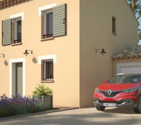 Terrain et Maison à vendre sur Carros