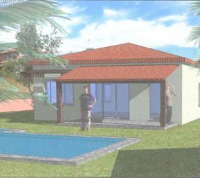 terrain avec projet de construction maison