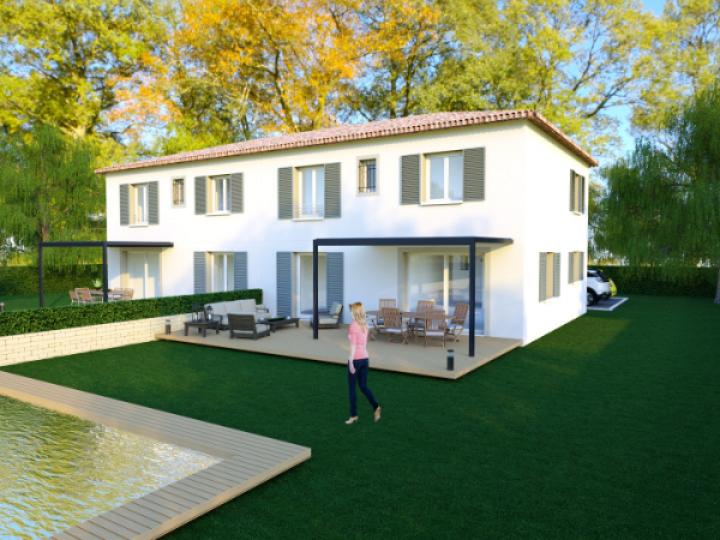 Terrain et maison rare à vendre sur la commune des tourrettes-sur-loup 06140