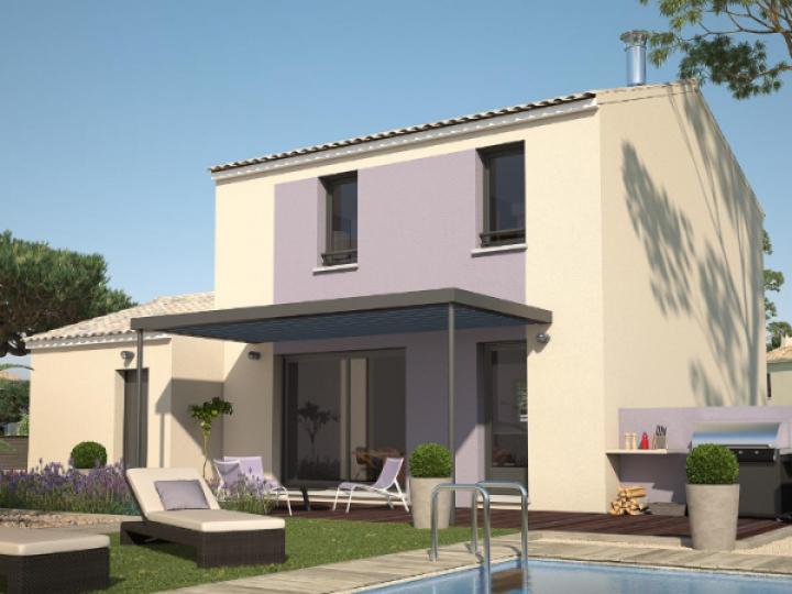 Terrain et Maison à vendre sur la commune d'Opio  06650