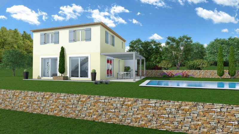 Vente terrain constructible l 39 escarene alpes maritimes for Terrain construction maison