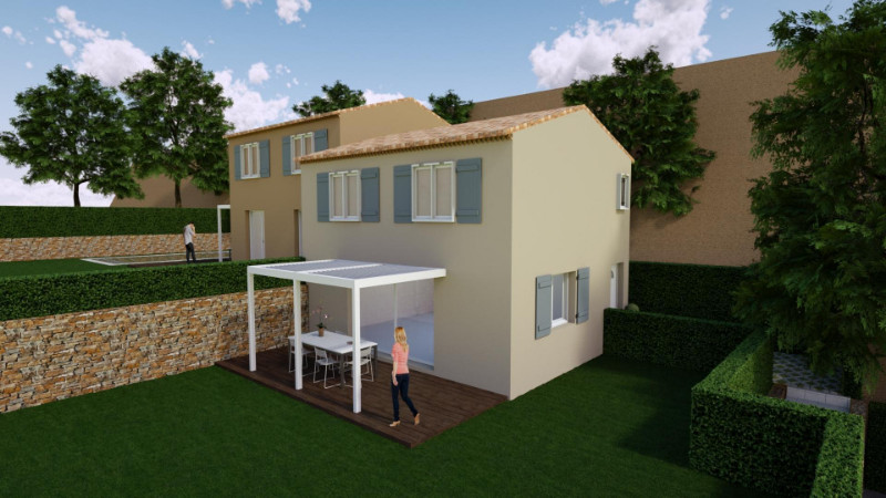 Vente terrain constructible saint laurent du var alpes for Terrain construction maison